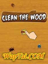 clean the wood