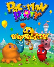 game pac man party