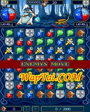 puzzle warriors game xep hinh